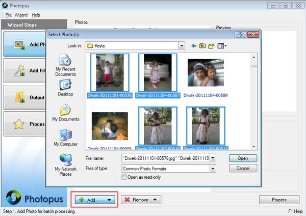 Photopus: Melakukan Editing dengan Metode Batch terhadap Foto Kamu