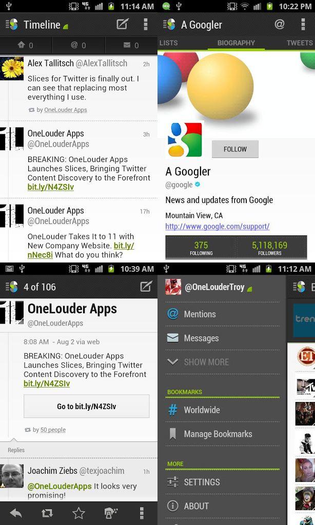 Slices : Aplikasi Twitter Alternatif untuk Android