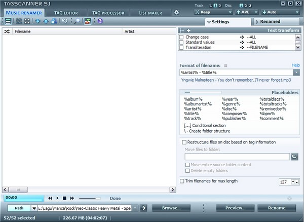 Kelola Tag dan Nama File Musik Kamu dengan TagScanner!