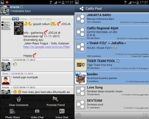Catfiz: Aplikasi Berkirim Pesan Gratis Buatan Anak Bangsa