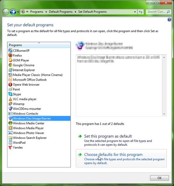 Cara Untuk Menyetting Default Program di Windows 7 dan 8
