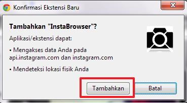 InstaBrowser : Lebih Mudah Melihat dan Membuka Instagram Langsung Dari Browser