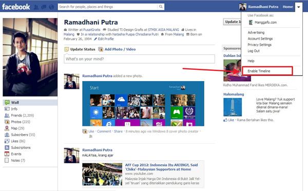 Cara Membuat Cover Timeline Facebook Menjadi Tampilan Windows 8