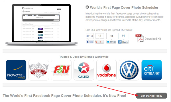 Cara Menjdawal Foto Sampul di Halaman Facebook Menggunakan PageCovery