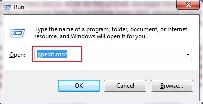 Cara Memproteksi Tampilan Desktop Background Menggunakan Run