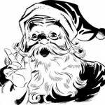 Kumpulan Gambar Santa Clause untuk Desain Kartu Natal