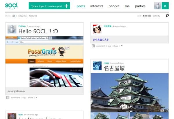 SOCL: Social Network Buatan Microsoft Telah Dirilis!