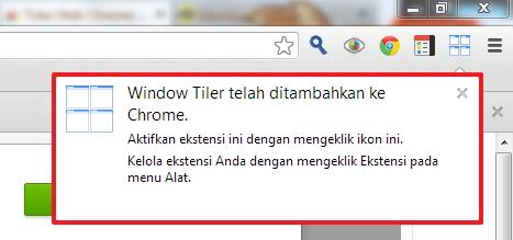 Cara Membagi Tampilan Chrome Menjadi Beberapa Bagian Secara Simetris dengan Window Tiler