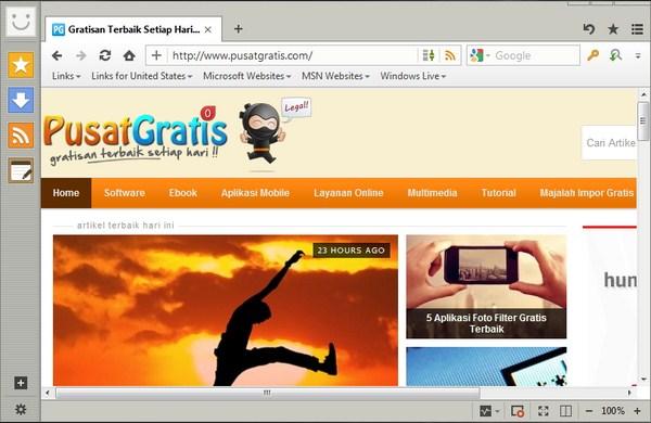 Alternatif Browser Internet Explorer 9 di Windows XP