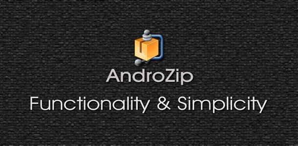 AndroZip File Manager : Cara Mudah Ekstrak File ZIP dan RAR di Android