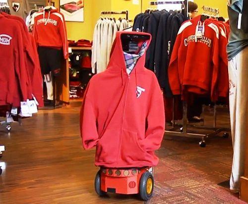 AndyVision : Sebuah Robot untuk Memeriksa Ketersediaan Stok di Sebuah Toko