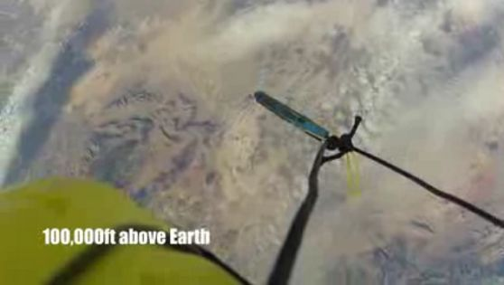 Apa Jadinya Bila iPhone Dijatuhkan dari Ketinggian 100.000 kaki (Video)