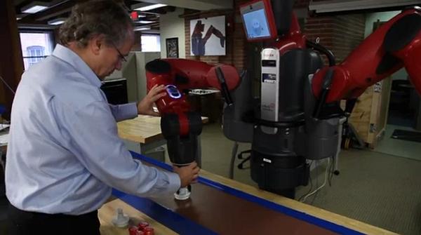 Baxter : Kurang Dari 30 Menit, Robot Ini Mampu Mempelajari Hal Baru