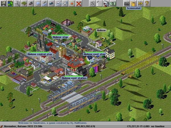 Bermain Game Simulasi Transportasi dengan Simutrans
