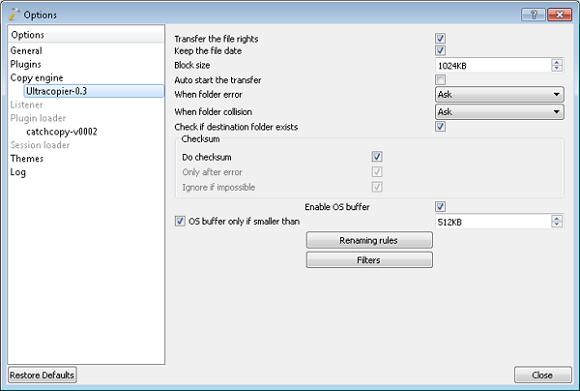 Cara Cepat Memindahkan File dan Folder dengan UltraCopier