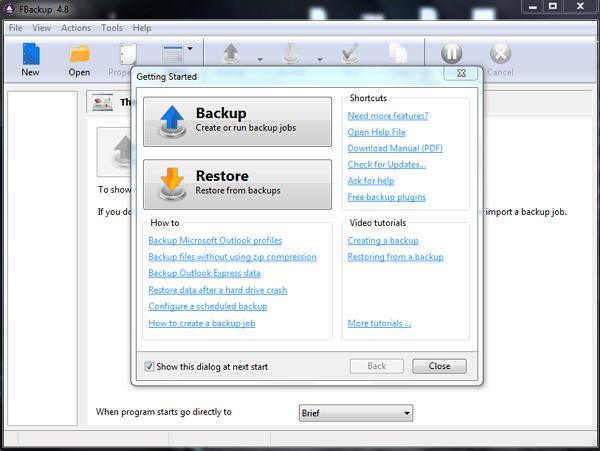 Cara Cepat dan Mudah Backup Data Dikomputer dengan FBackup