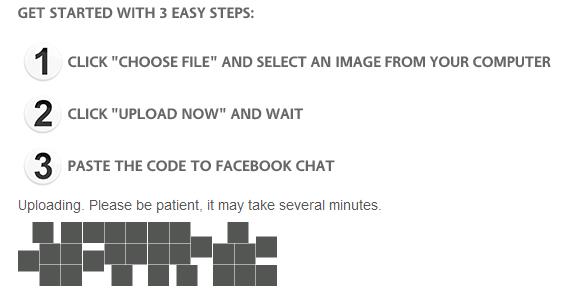 Cara Menambahkan Gambar pada Chat Facebook dengan SmileyChatCodes