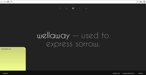 Cara Merubah tampilan Tab Kosong Google Chrome dengan Knew Tab Add-on
