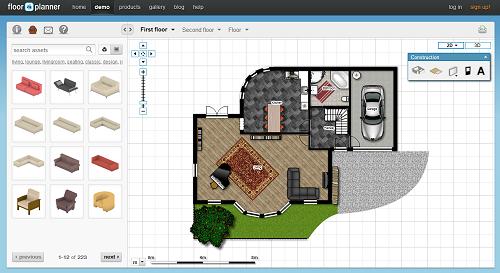 Desain interior rumah impian kamu dengan floorplanner Electrical floor plan software