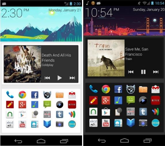 Ubah Tampilan Android Menjadi Tampak Seperti Google Now dengan SF Launcher