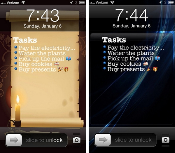 Task Paper : Tampilkan To Do List Tapat Pada Lock Screen iPhone Kamu