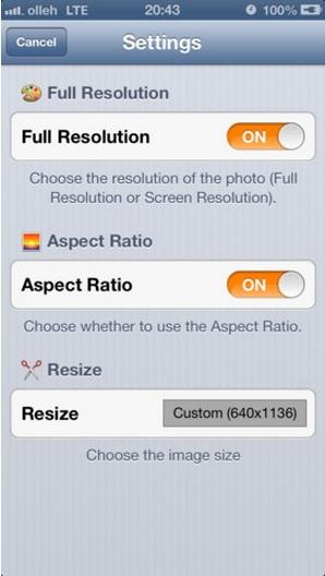 Resize Banyak Gambar Sekaligus dengan Photo Resizer [iOS]