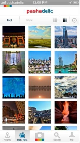 Pashadelic : Aplikasi Untuk Melihat dan Menemukan Tempat dari Sebuah Foto Diambil