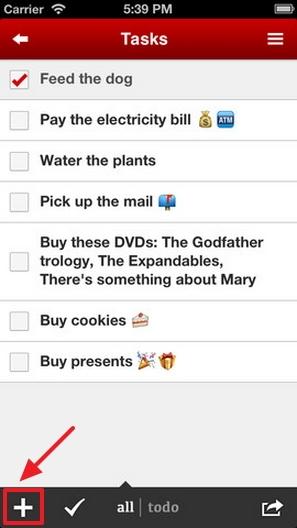 Task Paper : Tampilkan To Do List Tapat Pada Lock Screen iPhone Kamu