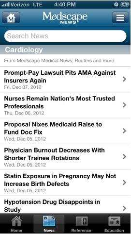 Cari Tahu Segala Informasi Medis dengan Cara yang Mudah Menggunakan Medscape [iPhone]