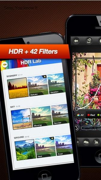 HDR FX Pro : Aplikasi Photo Editor Alternatif Photoshop untuk iPhone