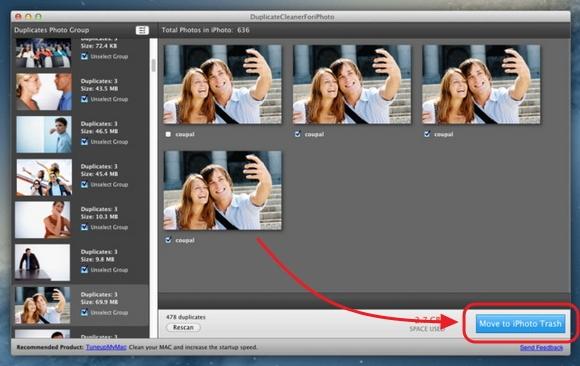 Mudah Menghapus Duplikat Gambar pada iPhoto dengan DuplicateCleanerForiPhoto