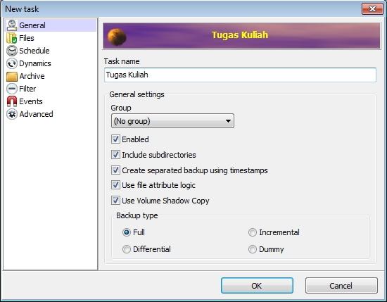 Backup File Penting dengan Cara yang Mudah Menggunakan Cobian Backup