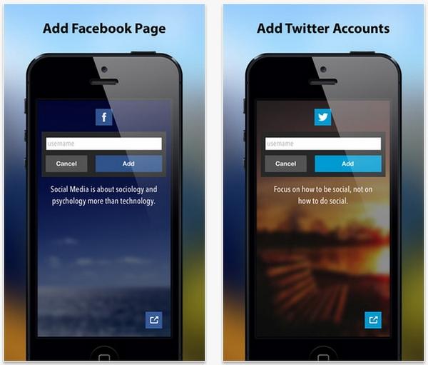 Social Tiles : Pinboard Modern Untuk Memantau Facebook Pages dan Profil Twitter
