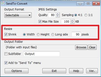 Cara Mudah Meng-convert dan Me-Resize Gambar dengan SendTo-Convert