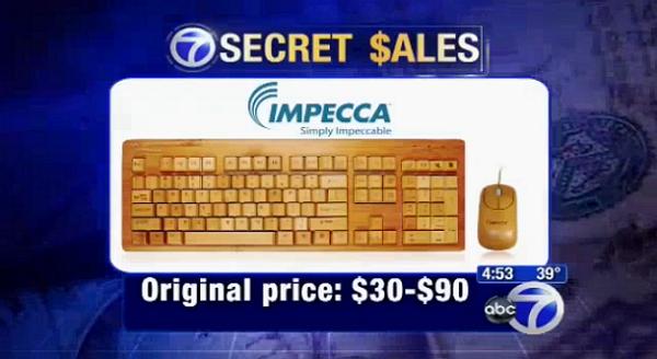Inilah Keyboard Komputer Ramah Lingkungan yang Terbuat dari Bambu
