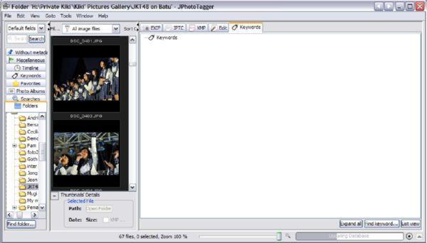 Editing Tag pada Kumpulan Gambar dan Foto Menggunakan JPhotoTagger