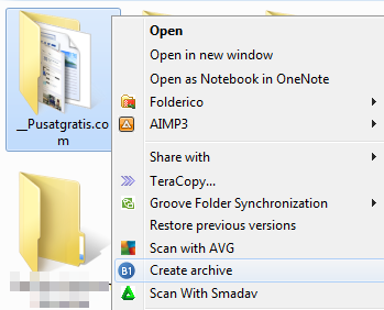 Kompres dan Ekstak File Secara Cepat dengan B1 Free Archiver