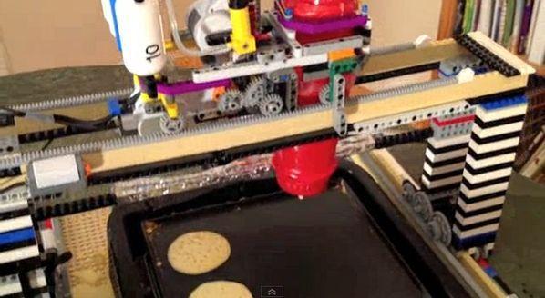LEGO PancakeBot, Inovasi Lezat Sebuah Mesin Pembuat Pancake