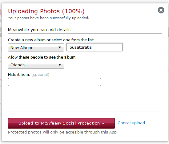 Lindungi Foto Facebook Milikmu dengan McAfee Social Protection