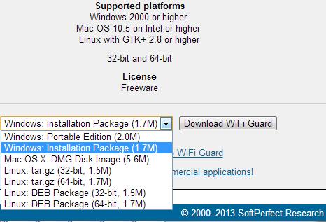 Lindungi Jaringan WiFi dari Penyusup dengan SoftPerfect WiFi Guard