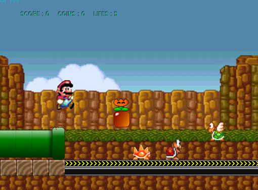 Mainkan Kembali Game Klasik Mario Bros dengan Mega Mario