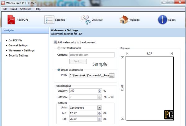 Memotong dan Memberi Password File PDF dengan Weeny Free PDF Cutter_3