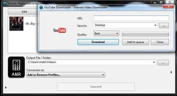 Mobile Media Converter : Software Converter Sekaligus Downloader Youtube