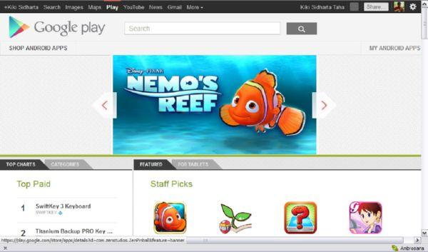 Download Android Apps dari Google Play dalam Bentuk APK Menggunakan Real APK Leecher