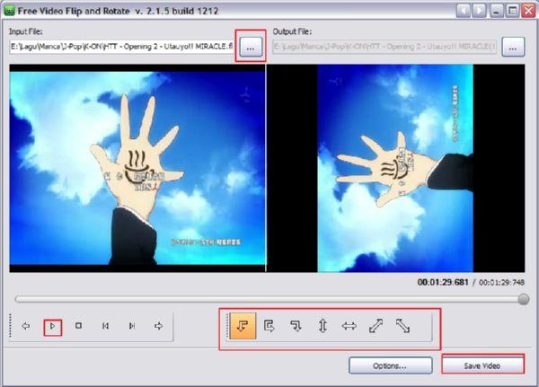 Free Video Flip: Untuk Flip dan Rotate Posisi Video Kamu