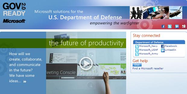 Windows 8 Mulai Digunakan Oleh Departemen Pertahanan Amerika