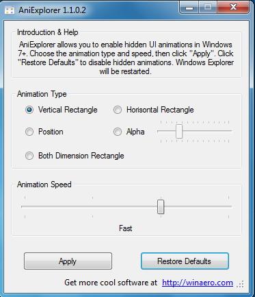 Tambahkan Animasi Saat Membuka Folder di Windows Explorer dengan AniExplorer