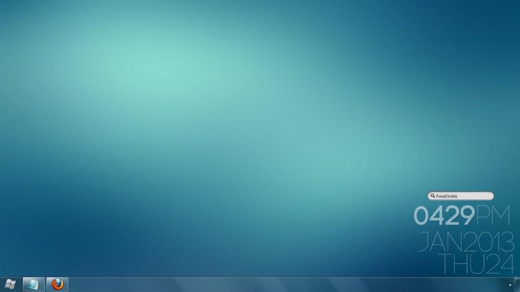 Mempercantik Desktop Dengan Membersihkan dan Mengosongkannya