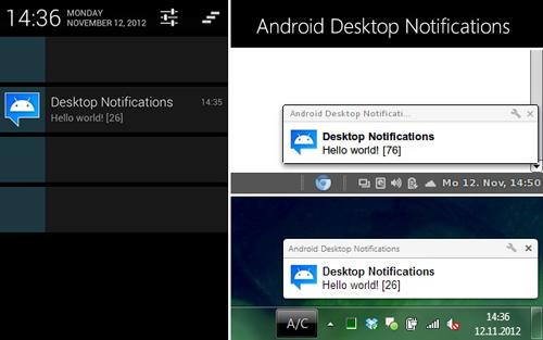 Memunculkan Pemberitahuan Android di Layar Komputer dengan Dekstop Notifications