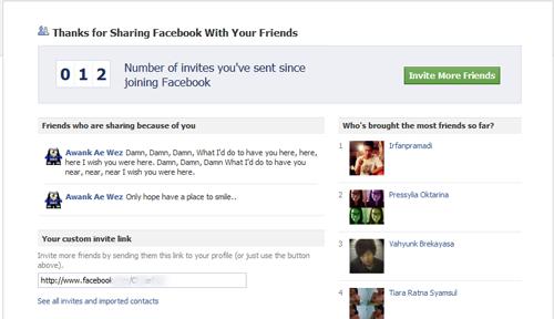 Cara Mudah Mengetahui Jumlah Teman yang Telah Kamu Undang ke Facebook